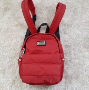 Red Purse Backpack Madden Girl New